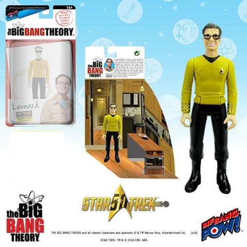 Big Bang Theory Leonard Star Trek 3 3/4-Inch Figure